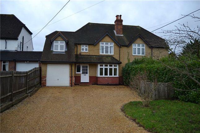 Thumbnail Semi-detached house to rent in Reading Road, Winnersh, Wokingham, Berkshire