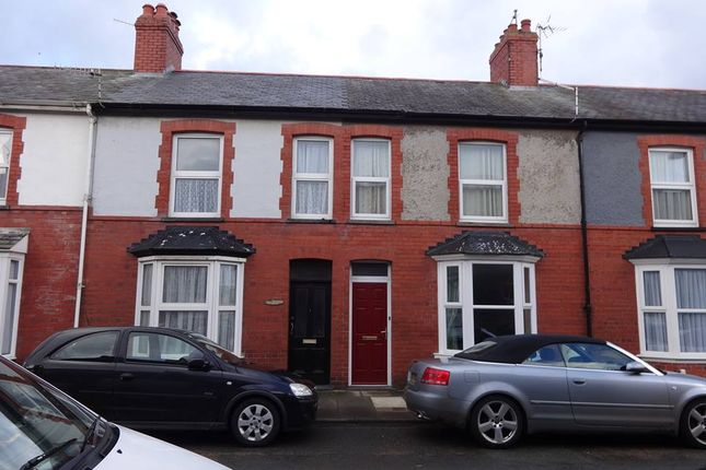 Thumbnail Terraced house to rent in Greenfield Street, Aberystwyth