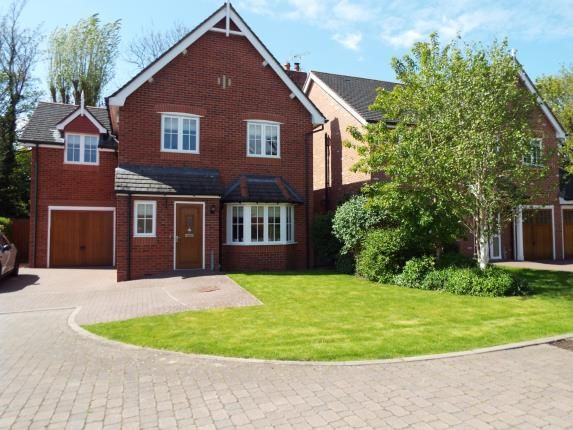 Thumbnail Detached house for sale in Warwick Gate, Aston, Nantwich, Cheshire