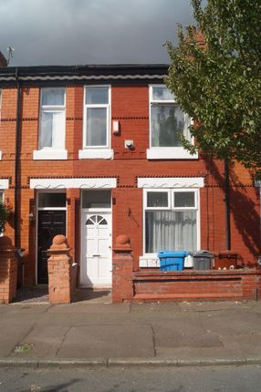 Thumbnail Terraced house to rent in Horton Road, Fallowfield, Manchester