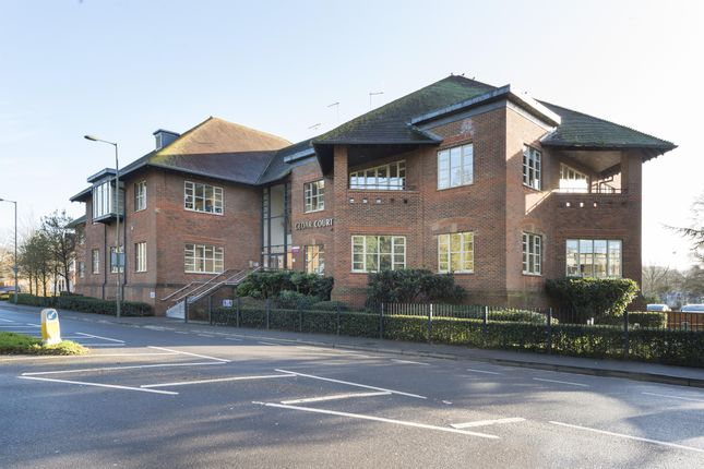 Thumbnail Office to let in Part Ground Floor, Cedar Court, Guildford Road, Leatherhead