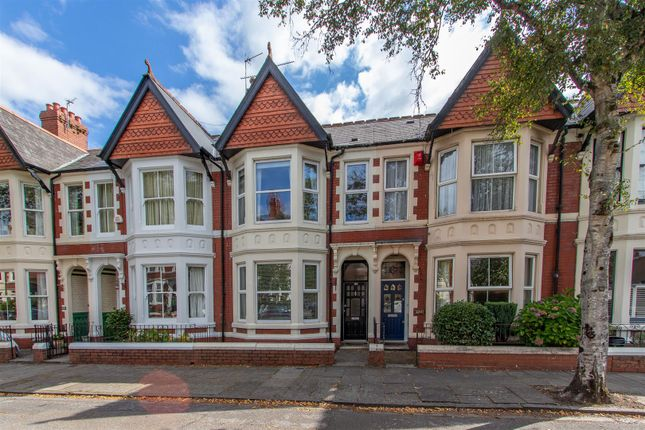 Thumbnail Terraced house to rent in Kimberley Road, Penylan, Cardiff