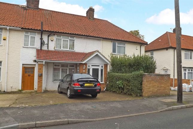 Thumbnail End terrace house for sale in Minet Drive, Hayes, Greater London