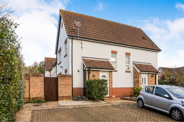 Thumbnail Terraced house for sale in Tickenhall Drive, Harlow
