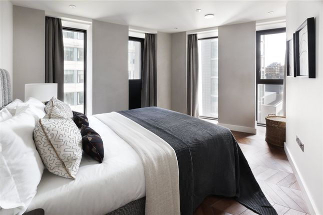 Bedroom of Hexagon Apartments, 43-49 Parker Street, Covent Garden, London WC2B
