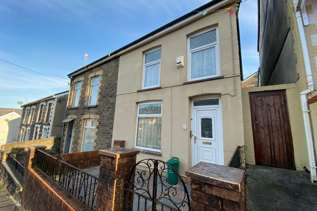 3 bed terraced house for sale in Amos Hill, Penygraig, Tonypandy CF40