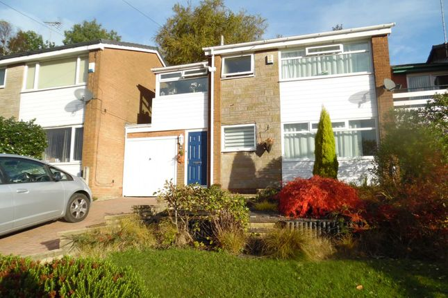 Thumbnail Link-detached house for sale in Rishworth Rise, High Crompton, Shaw
