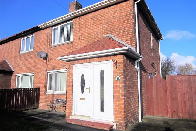 Thumbnail Semi-detached house for sale in Dudley Drive, Dudley, Cramlington