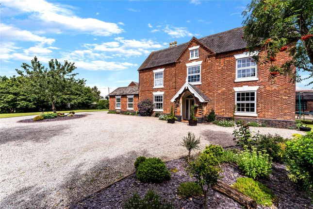 Thumbnail Detached house for sale in Church Farm, Station Road, Leicester, Leicestershire