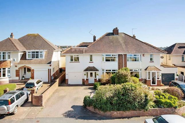 Thumbnail Semi-detached house for sale in Hulham Road, Exmouth