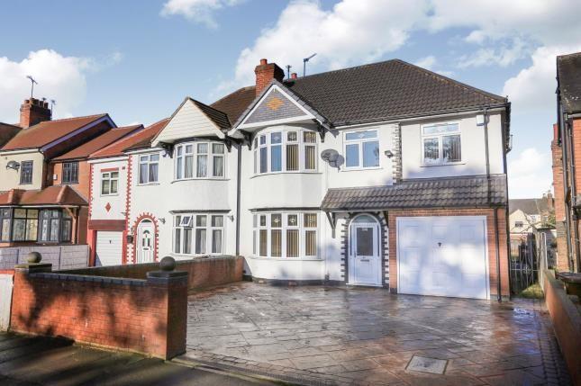 Thumbnail Semi-detached house for sale in Park Road West, West Park, Wolverhampton, West Midlands