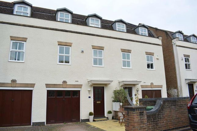Thumbnail Town house to rent in Mill View Close, Ewell, Epsom
