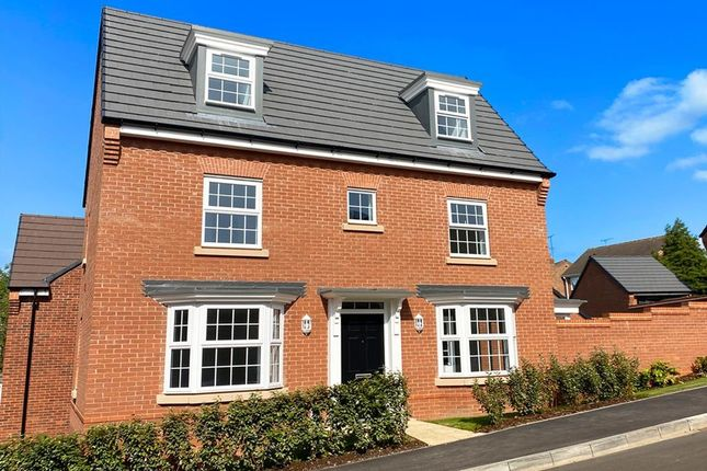 "Thumbnail Detached house for sale in ""Hertford"" at Sorrel Close, Uttoxeter"