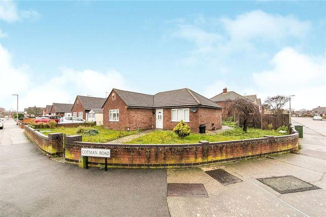 Thumbnail Detached bungalow for sale in Cotman Road, Colchester