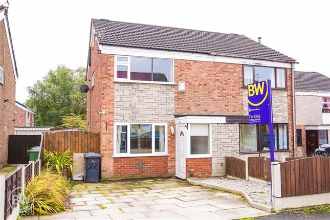 Thumbnail Semi-detached house for sale in Ely Drive, Astley, Tyldesley, Manchester