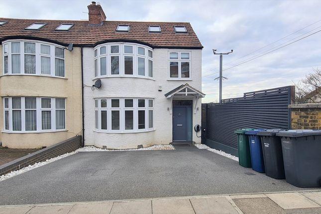Thumbnail End terrace house for sale in Windsor Drive, East Barnet, Barnet