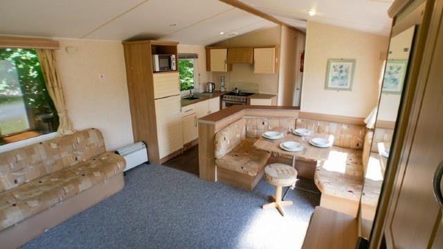 Kitchen of Tree Tops, Week Lane, Dawlish EX8