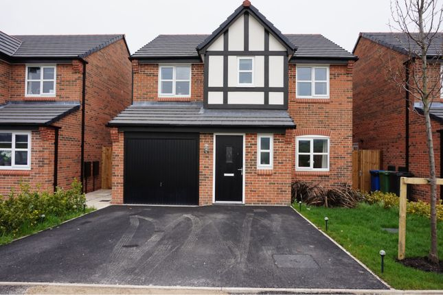 Thumbnail Detached house for sale in Leander Close, Manchester