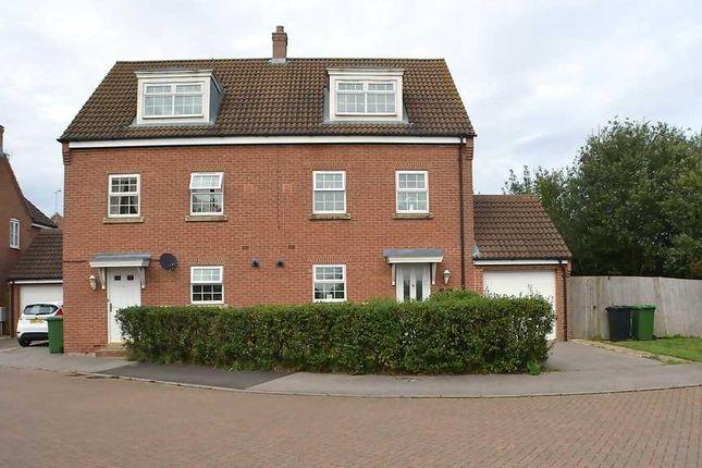 Semi-detached house for sale in Fendley Close, Watlington, King's Lynn