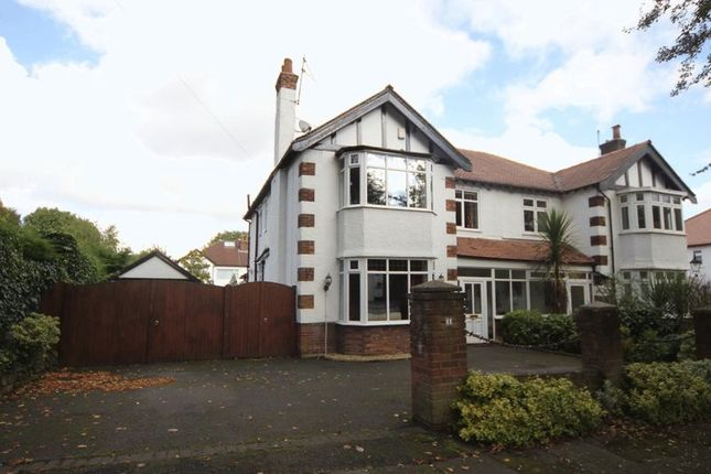 Thumbnail Semi-detached house for sale in Gayton Avenue, Higher Bebington, Wirral