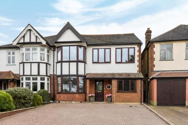 Thumbnail Semi-detached house for sale in The Ridgeway, Chingford, London