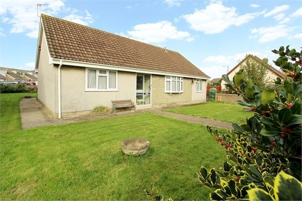 Thumbnail Detached bungalow for sale in New Bristol Road, Worle, Weston-Super-Mare, North Somerset.