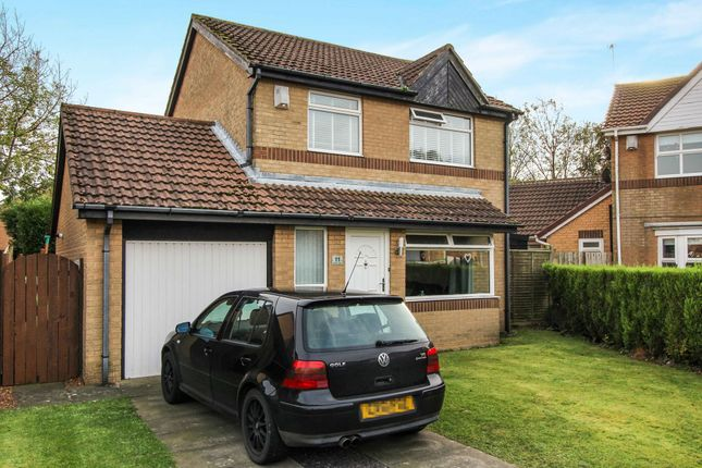 Thumbnail Detached house for sale in Swanton Close, Westerhope, Newcastle Upon Tyne