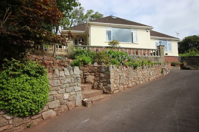 Thumbnail Detached bungalow for sale in Ash Hill Road, Torquay