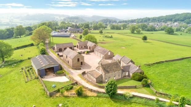 Thumbnail Detached house for sale in Birchover, Matlock, Derbyshire