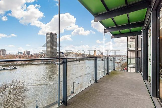 Thumbnail Flat for sale in The Merano, Albert Embankment