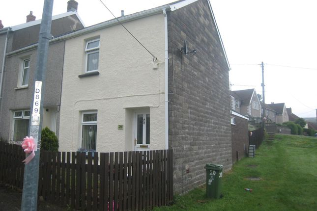 Thumbnail Terraced house for sale in Rifle Green, Blaenavon, Pontypool