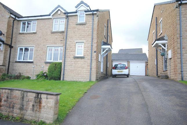 Thumbnail Semi-detached house to rent in Dunmore Avenue, Queensbury, Bradford