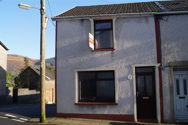 Thumbnail End terrace house for sale in Dover Street, Mountain Ash