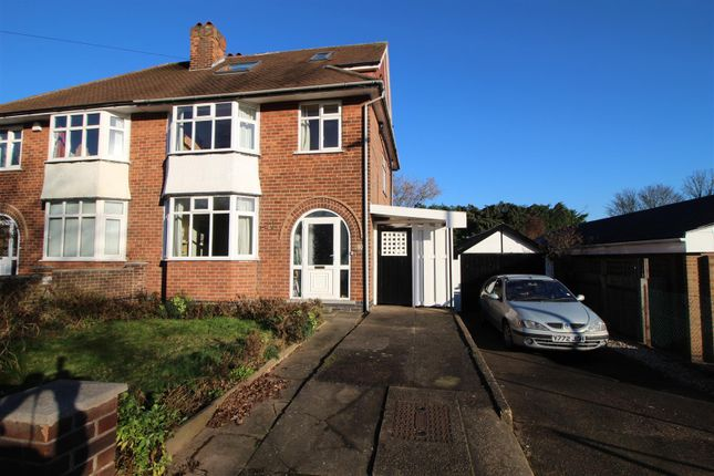 Thumbnail Semi-detached house for sale in Bramcote Lane, Chilwell, Nottingham