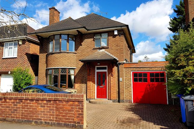 Thumbnail Detached house for sale in West Drive, Mickleover, Derby