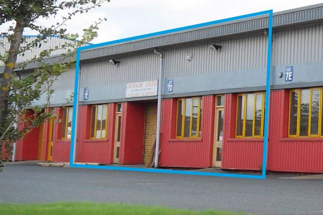 Thumbnail Industrial to let in Unit 7C&D Zone 4, Burntwood Business Park, Burntwood