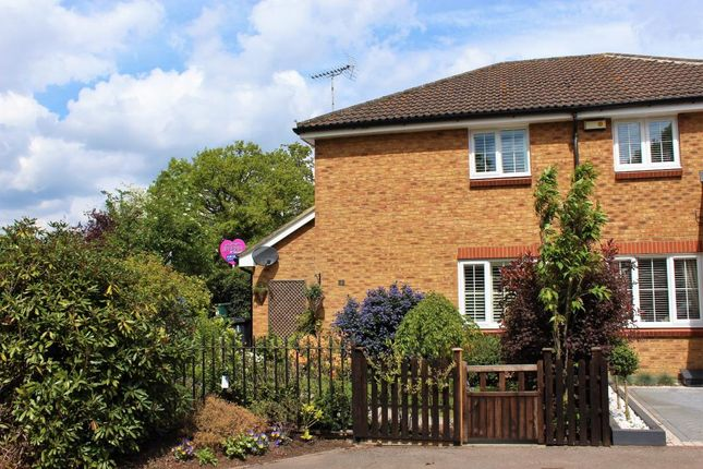 Thumbnail Semi-detached house for sale in The Glade, Mytchett