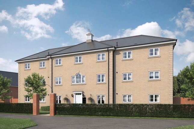 Thumbnail Flat for sale in Wildeve Apartments At Chesterwell, Nayland Road, Mile End, Colchester, Essex