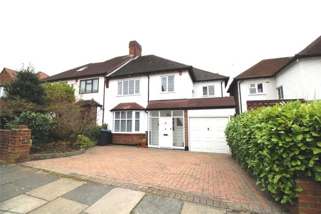 Thumbnail Semi-detached house for sale in Forestdale, Southgate, London