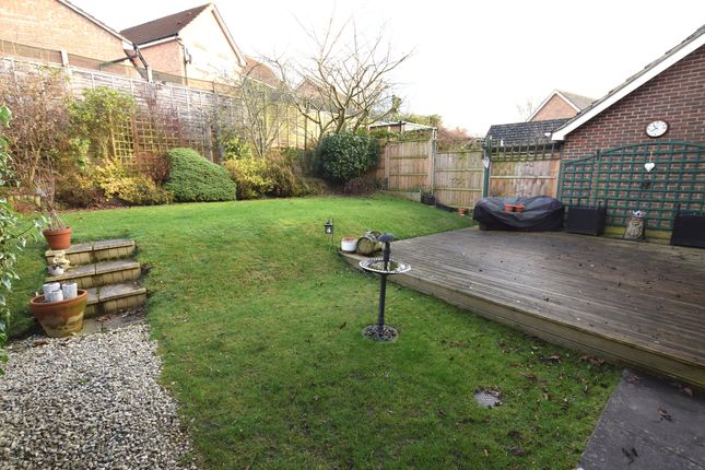 Rear Garden of Guernsey Way, Braintree CM7