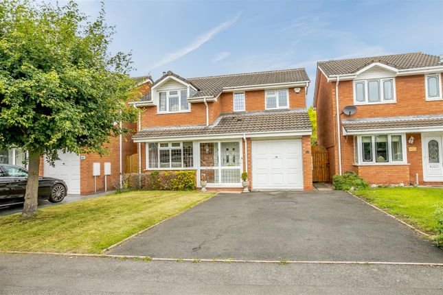 Thumbnail Detached house for sale in Cornwall Avenue, Fazeley, Tamworth