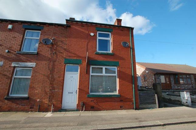 Thumbnail End terrace house to rent in Piggott Street, Farnworth, Bolton