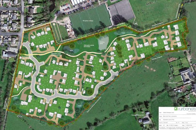 Thumbnail Land for sale in Land At Bank Hall Farm, Off Sandy Gate Lane, Broughton
