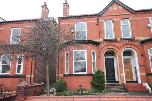 Thumbnail Semi-detached house to rent in Hazelhurst Road, Worsley, Manchester