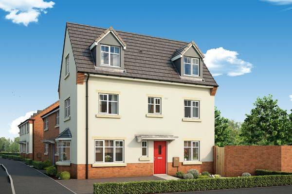 "Thumbnail Property for sale in ""The Rowan At The Willows, Dudley"" at Middlepark Road, Dudley"