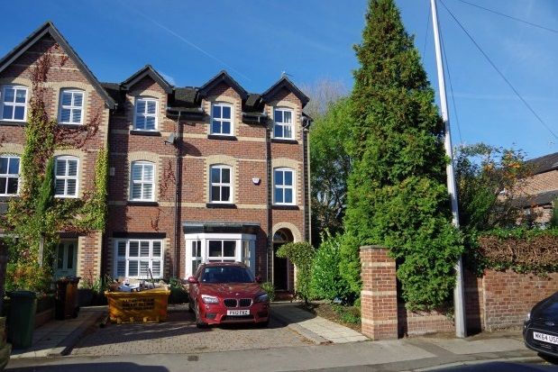 Thumbnail Town house to rent in Gillbrook Road, Didsbury