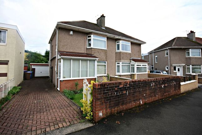 Thumbnail Semi-detached house for sale in Willowdale Crescent, Baillieston, Glasgow