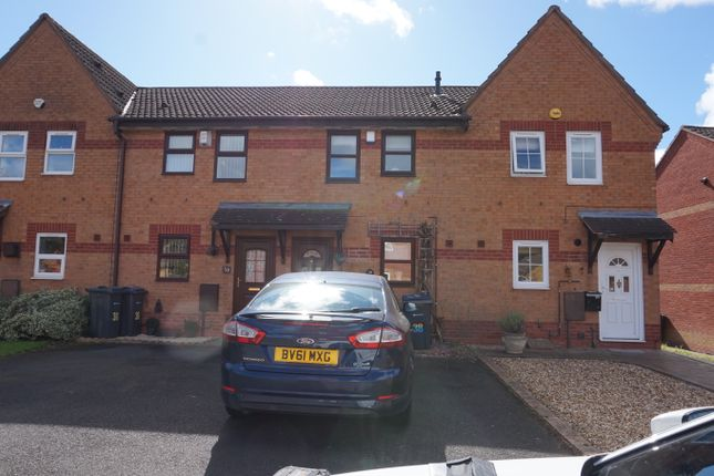 Thumbnail Terraced house to rent in Knowle Close, Rednal