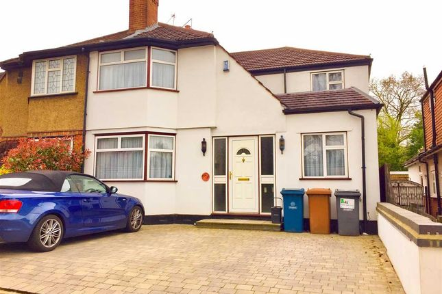 Thumbnail Semi-detached house for sale in Uxbridge Road, Harrow Weald, Harrow