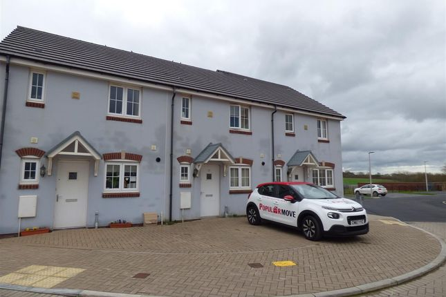 Thumbnail Terraced house to rent in Sunningdale Drive, Hubberston, Milford Haven